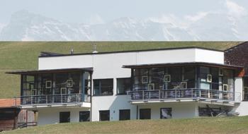 Школа в Австрии, спроектированная Герхардом Хаузером