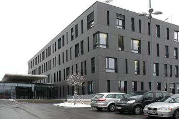Офисный центр. Проект Герхарда Хаузера