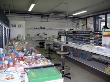 Работа с пигментами для керамогранита