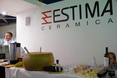 Итальянское угощение от компании Estima. Мастер-класс для дизайнеров и архитекторов, Mosbuild 2013