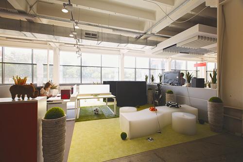 Гибкое офисное пространство, современные тенденции офисного дизайна