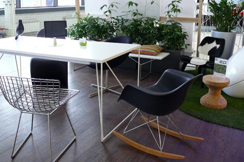 Стенд компании Concept, офис - сад