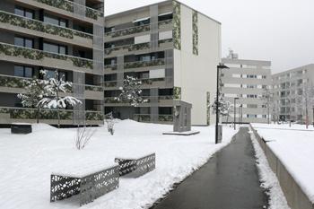 Пассивный жилой комплекс в Инсбруке