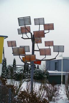 Солнечные батареи, детский сад в Крумбахе, пассивный дом