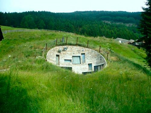 Экологичный дом. Проект Кристиана Мюллера