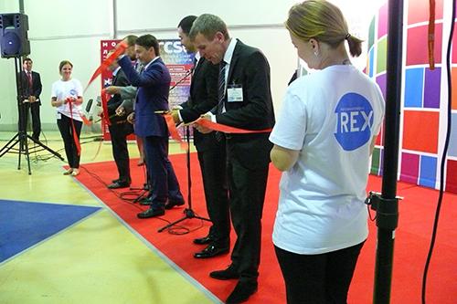 Открытие выставки REX 2014