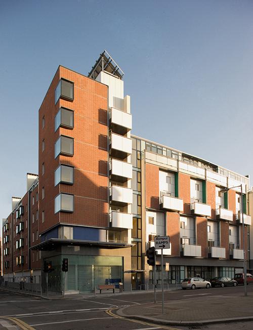 Улица York Street, спроектированная как экоустойчивая. Шон Харрингтон и EC3design