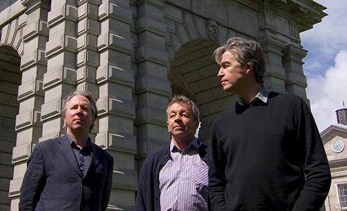 Директора EC3design Шон Харрингтон, Джей Стюарт и Паскаль Махони