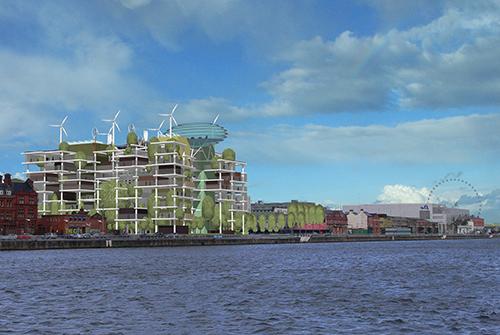 Проект Trees on the Quays. Инновационный вертикальный парк