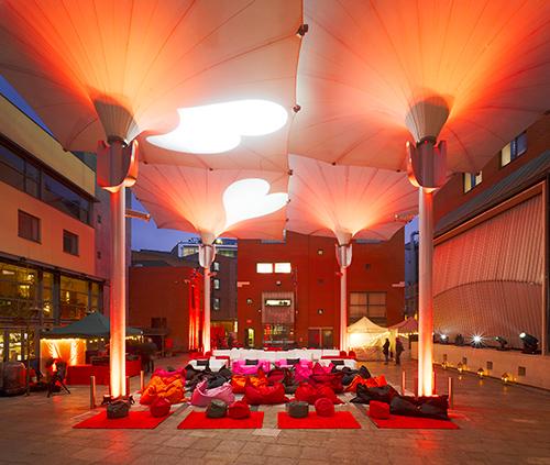 Площадь в Дублине, проект EC3design
