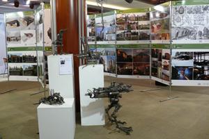 Экспозиция фестиваля Зеленый проект