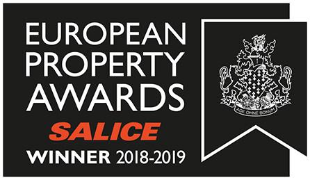 Главный приз на международном конкурсе European Proerty Awards 2018-2019