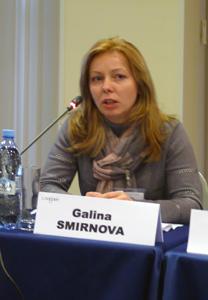 Галина Смирнова, спикер на бизнес-саммите Russia Retail Property Development Summit