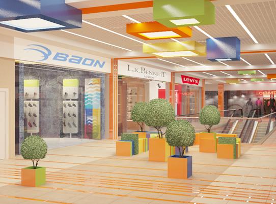 Проект торгового центра Март, Лесной городок