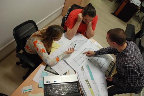 Архитектурно-дизайнерская студия DeViz. За работой