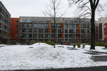 Жилой комплекс в Германии, пассивный дом